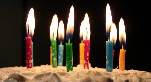 Micro Post: My Birthday/The Big 3-0