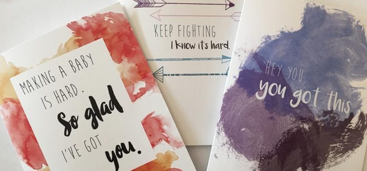 Micro Post: Infertility Greeting Cards